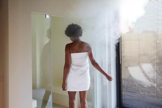 Kom tot rust in de privé sauna's van SOAK Urban Wellness in Amsterdam.