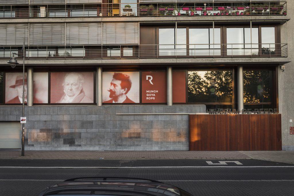 Museum de Reede in Antwerpen is de plek waar je het werk vindt van de drie meester Francisco Goya, Félicien Rops en Edvard Munch.