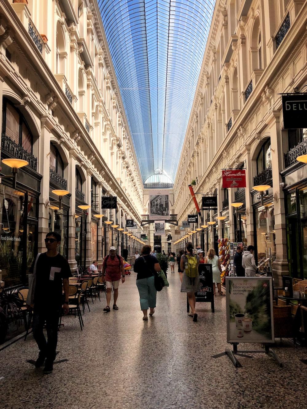De Passage in Den Haag is een rijksmonument vol met leuke winkels.