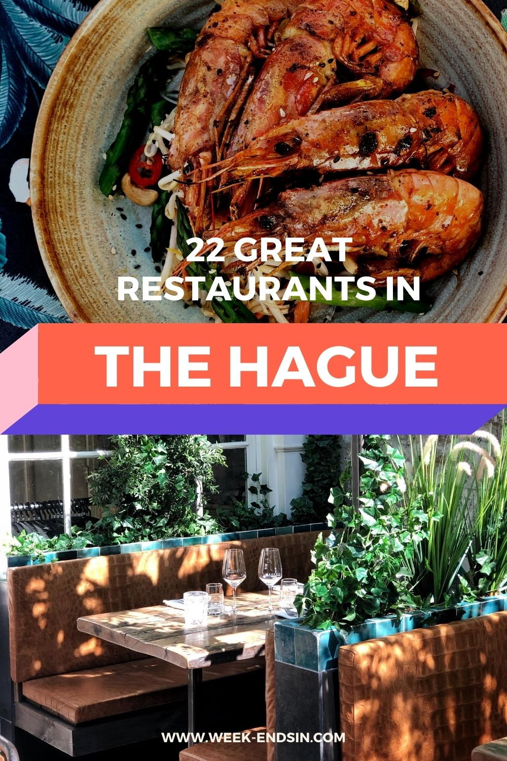 The Hague is filled with great restaurants, where you can enjoy the tastiest dishes, matching drinks and pleasant atmosphere for hours. Read them all here!
