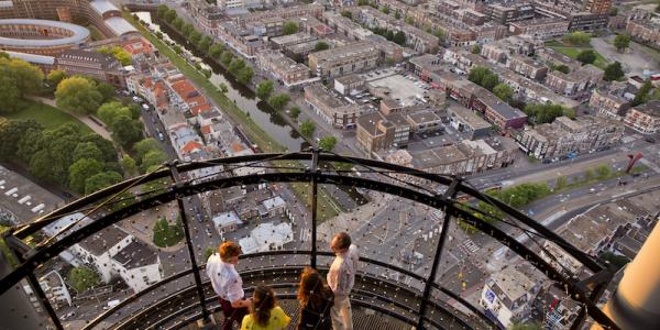 Wil je Den Haag vanaf hoge hoogtes zien? Bezoek dan het Penthouse.