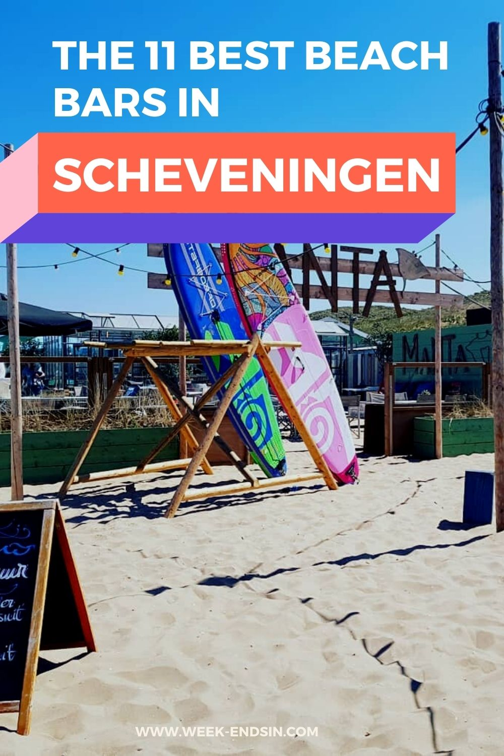 Looking for the best beach bars in Scheveningen? Enjoy these gems with your feet in the sand, a cocktail in your hand and the sea right in front of you.☀️