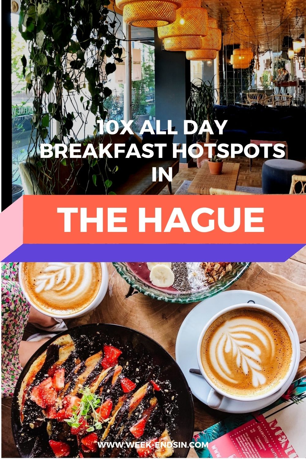 Is breakfast your favourite meal of the day as well? Then you'll love these all day breakfast hotspots in The Hague!