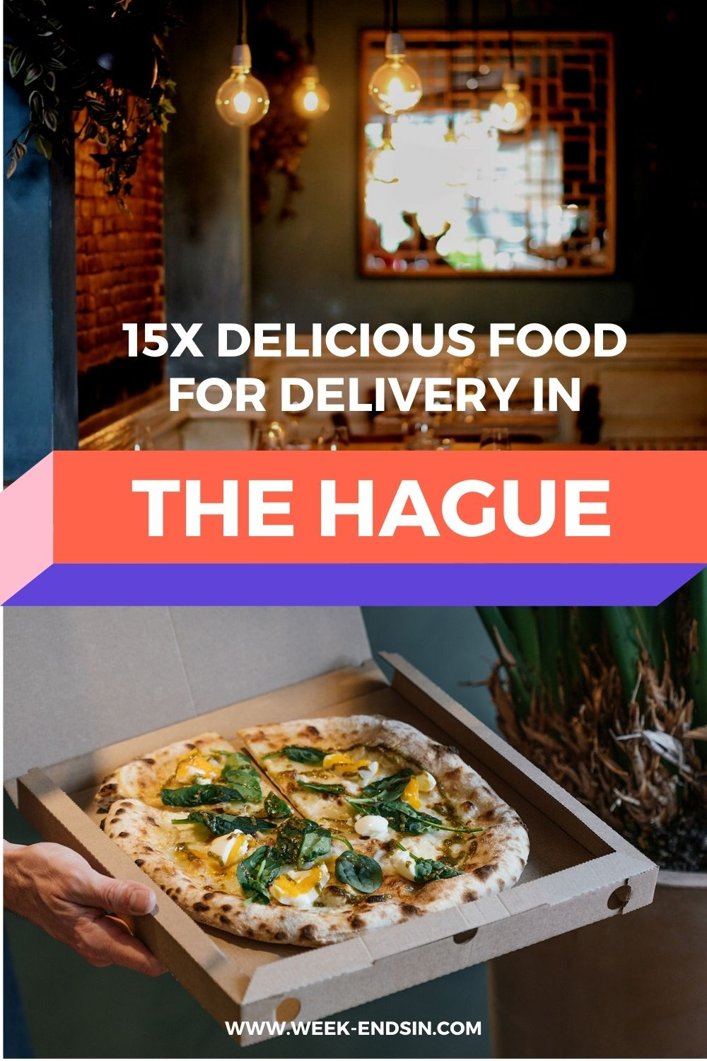 Want to stay on your sofa while enjoying food from your favourite restaurant? Here we share some amazing hotspots in The Hague that deliver food!